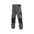 Kalhoty ORION TEODOR, šedo-černé