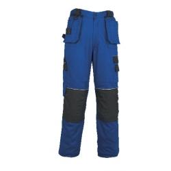 Kalhoty ORION TEODOR, do pasu, modro - černé