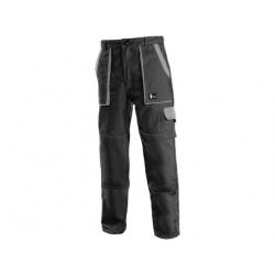 Pánské kalhoty CXS LUXY JOSEF, černo-šedé