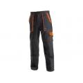 Kalhoty CSX LUXY JOSEF montérkové, černo-oranžové
