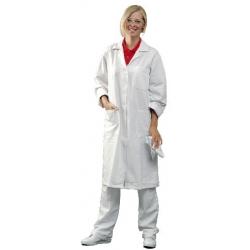 Plášť EVA bílý, dlouhý rukáv, dámský