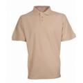 Tričko FILIP s límečkem béžové