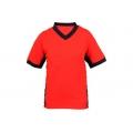 Tričko s krátkým rukávem SIRIUS THERON, oranžovo-šedé